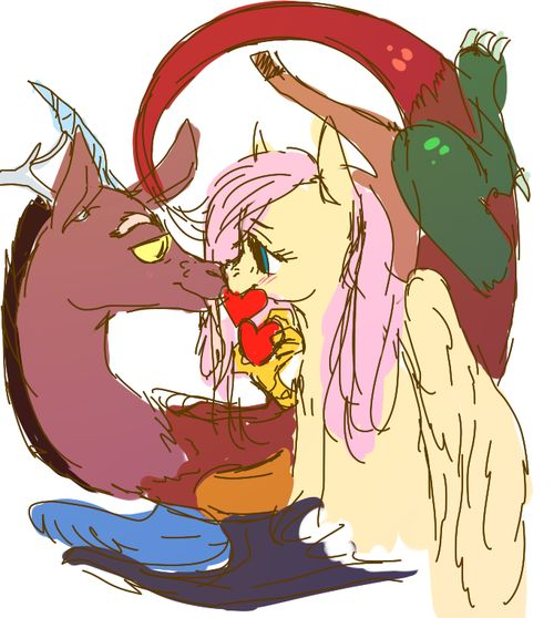 Baby Discord And Fluttershy 138 best FLUTTE...