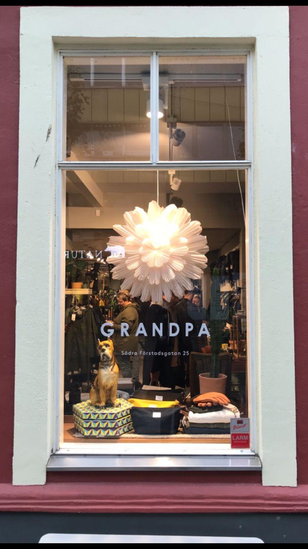 Grandpa store Malmö. #grandpastore