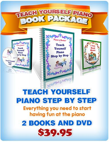 Learn Piano by Number for young children - future idea for the kiddos