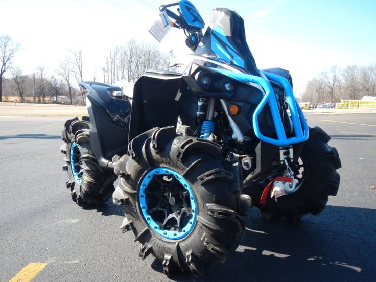 NEW CAN AM RENEGADE CFab 1000 XMR MR LIFTED MUD ATV 4 wheeler 32 silverback rjwc #silverback #rjwc #wheeler #lifted #cfab #renegade
