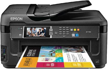 Epson WorkForce WF-7610 Color Inkjet Printer, C11CC98201, New | Staples®