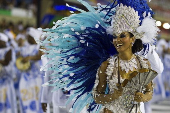 Carneval, late Feb-early Mar @ Rio de Janeiro, Brazil (like Brazilian Mardi Gras or Carnevale w/ samba music, colorful costumes and giant parades)        Pinning made easy! http://www.pinny.co Pin any photo in any website with a click.