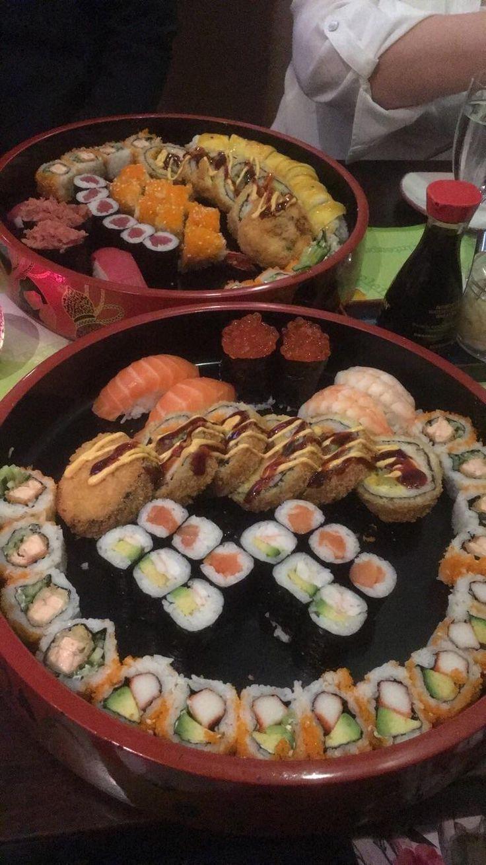 My best sushi experience so far! Sakura sushi Bar in Magdeburg Germany  #sushi #food #foodporn #japanese #Japan #dinner #sashimi #yummy #foodie #lunch #yum
