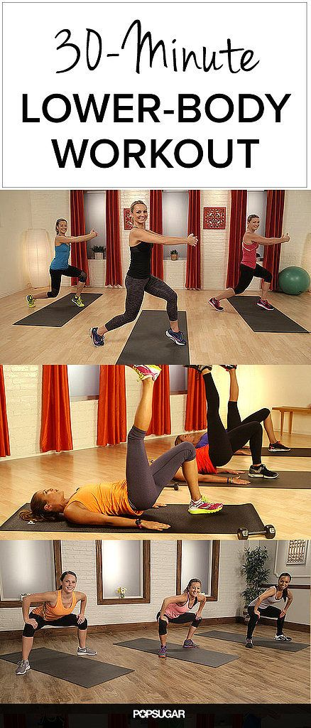 30-Minute Workout For the Cutest Butt Ever