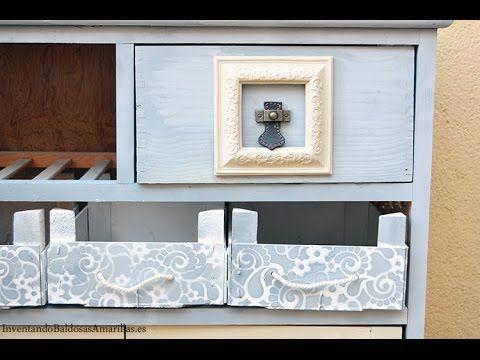 Tutorial decora tus muebles con pintura de tiza en spray