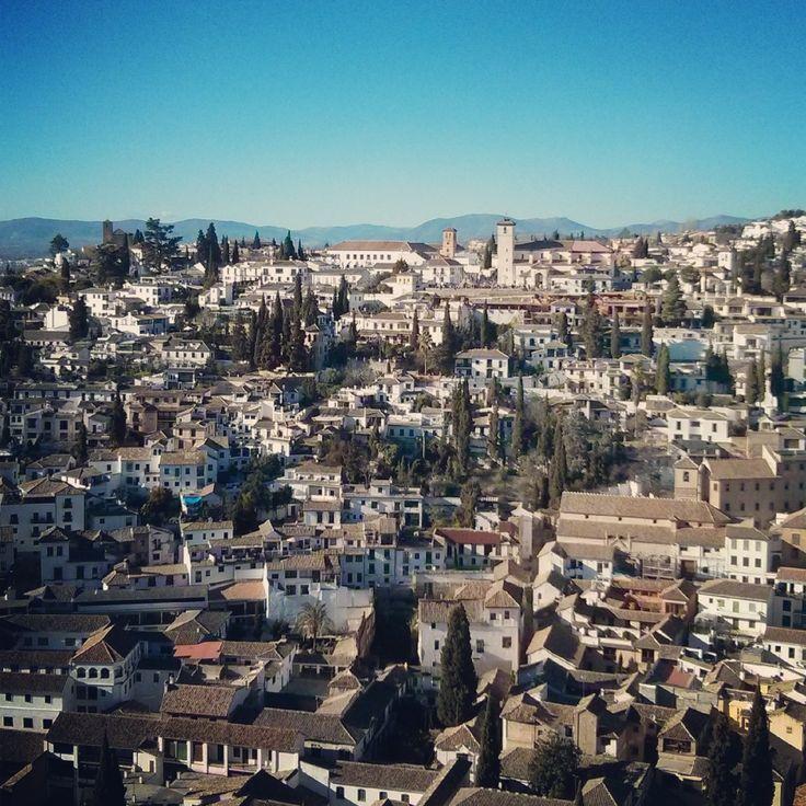 El Albaicín en Granada, Spain. Via @Oscuelar en #Instagram