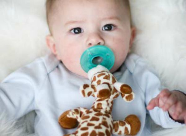 Essential Baby Inventions | WubbaNub Pacifier Cute stuffed animal attached to pacifier