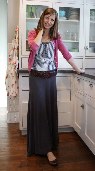 how do I feel about the Maxi skirt?  hmmm...could I pull it off?