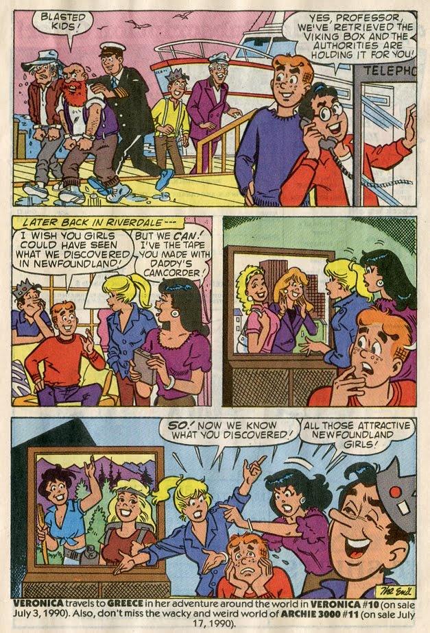 Archie likes Newfoundland girls