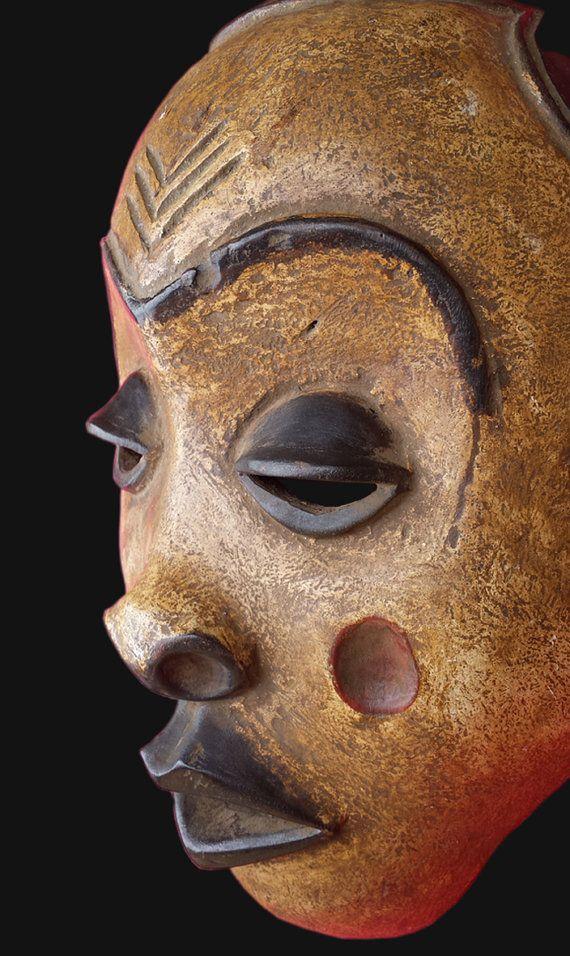 Masque africain masque Tribal Dan de Côte d'Ivoire par AfricanMasks
