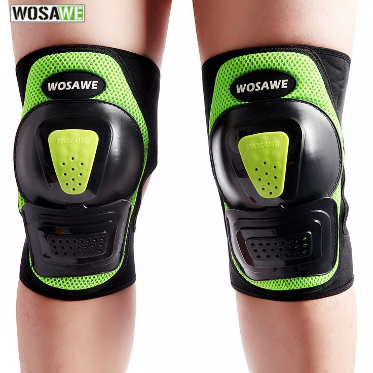 WOSAWE Drop Resistance Kneepads Skiing Cycling Skating Extreme Sports Basket Protective Gear Leg Guards Bicycle Knee Pads