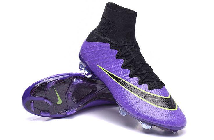 Half Price Nike Mercurial Superfly FG Firm Ground Purple Black Green $106.99
