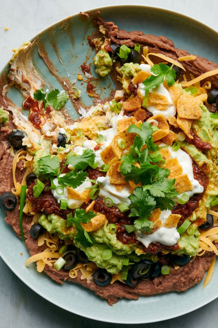 Seven Layer Dip Recipe Seven Layer Dip Nyt Cooking Recipes