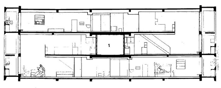 1947 - Unitée d'habitation - Le corbusier