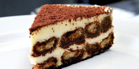Creamy, rich Tiramisu with a hint of cinnamon and triple sec.  Recipe Courtesy of Pat Delle Grazie of Chicago Style Pizza.