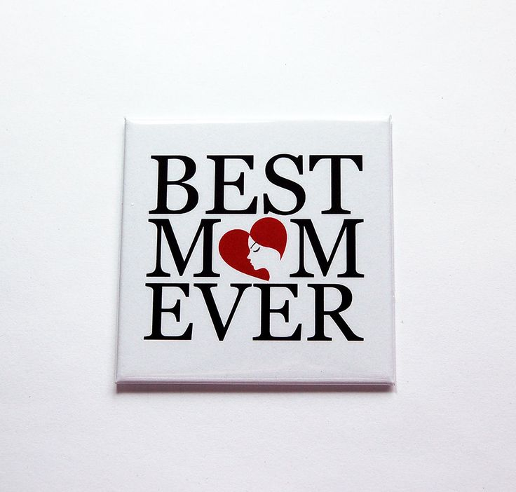 Best Mom Ever magnet, Mothers Day Gift, Gift for Mom, Fridge magnet, Magnet for mom, Under 5, Floral, Refrigerator magnet (7317) by KellysMagnets on Etsy