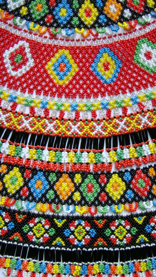 Cose up of gerdan beading. Though I'm sure I could NEVER do anything like this ... I must admit it's absolutely gorgeous.!