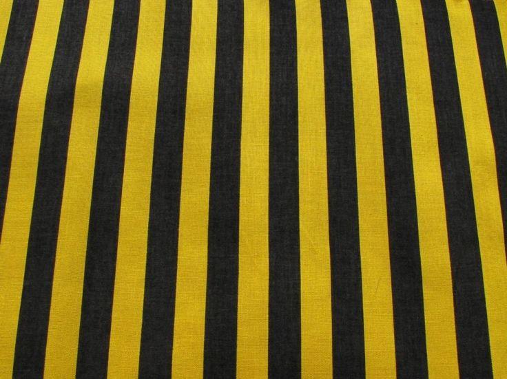 Proužek černo-žlutý 10141