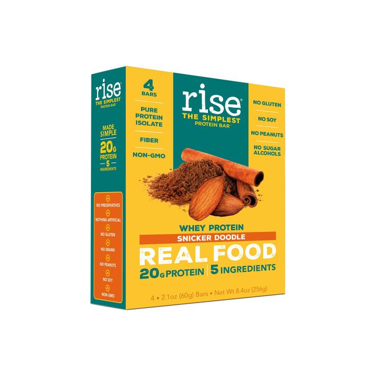 Rise Whey Protein Bar - Snicker Doodle - 8.4oz