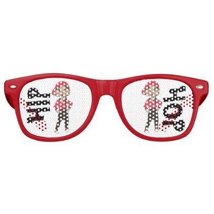 Hip Hop Jazz Hiphop Dance Recital Costume Dancer Retro Sunglasses - accessories accessory gift idea stylish unique custom