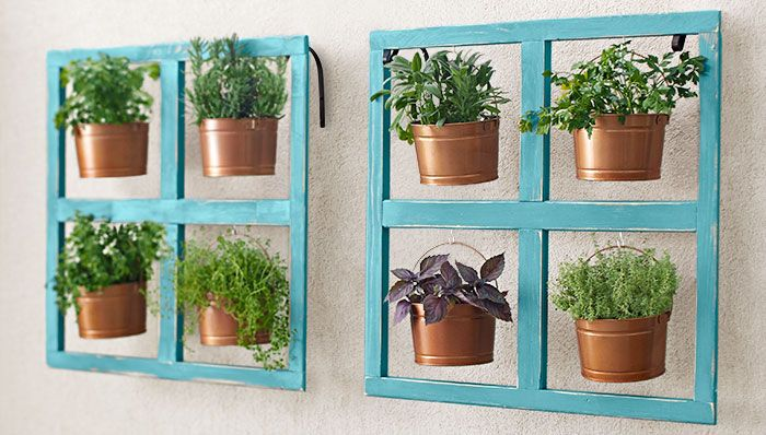 Add a Hanging Bucket Herb Planter