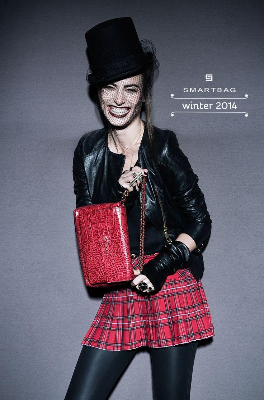 Smartbag Bolsas Inverno 2014 #bolsa #couro