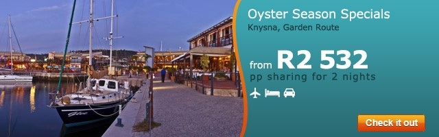 Oyster Season on the Garden Route
