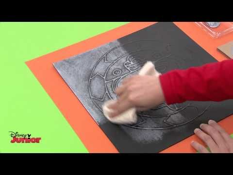 ▶ Art Attack! - Time Travel - Aztec Art! - Disney Junior UK HD - YouTube