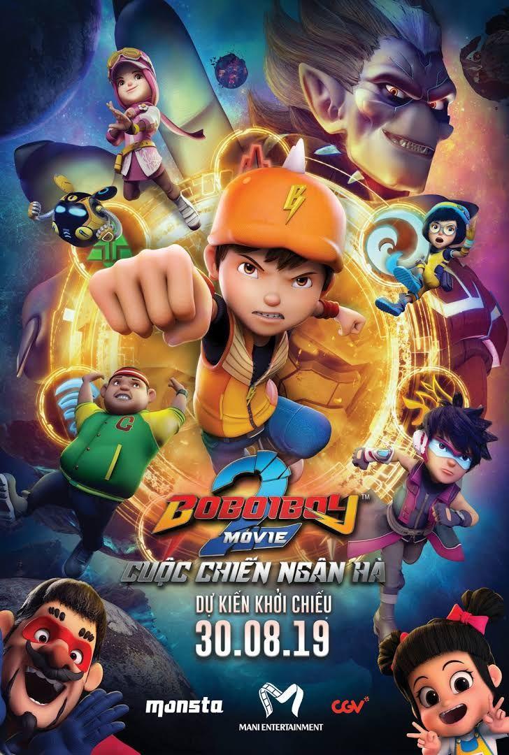 Boboiboy The Movie 2 Film Petualangan Film Animasi Film Anak