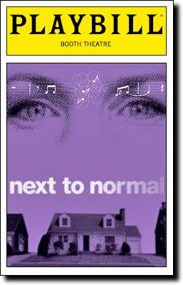 Next to Normal: Broadway Baby, Music Plays, Favorite Music, Lane Theatre, Broadway Favorite, Playbill Next To Normal, Music Theatre, Bipolar Disorder, Normal Playbill