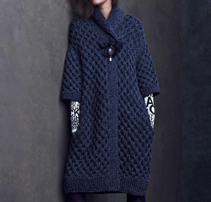 Пальто Sonya (а также юбка, свитер) из коллекции дизайнера Kim Haller. Обсуждение на LiveInternet - Российский Сервис Онлайн-Дневников