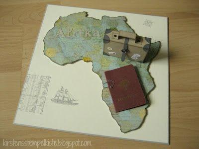 Kirstens Stempelkiste: Geldgeschenk für eine Reise