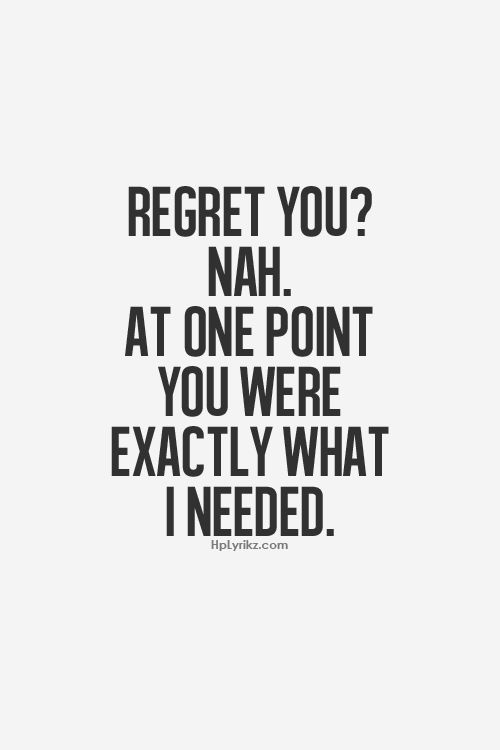 No regrets...I know what it feels like to be on a pedestal and I've learned so much about me, who my real friends are, and narcissism