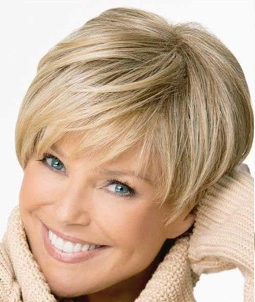 18.Short Hair Cut for Older Women