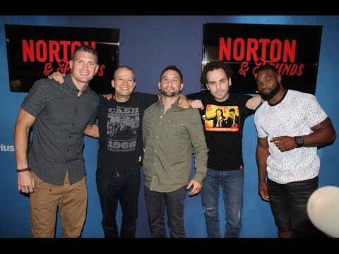 Frankie Edgar, Wonderboy and Tyron Woodley on Jim Norton & Friends (09/2...