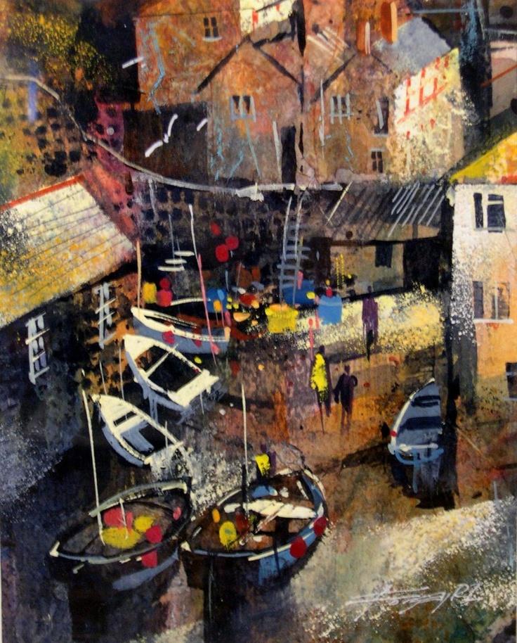 Chris Forsey. Inner harbour