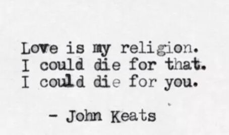 ~ John Keats #quote                                                                                                                                                                                 More