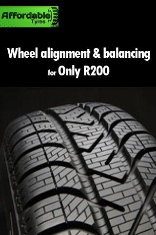 R200 Wheel alignment and balancing