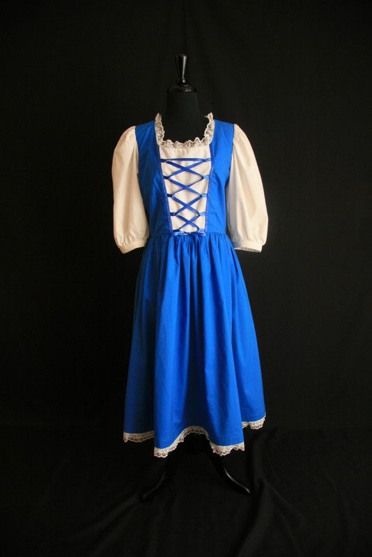 Belle Blue Dress | Belle's Blue Dress