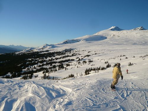 """Smithers BC ski mountain. The """"arctic"""" location seen in the pilot of """"The Last Ship"""""""