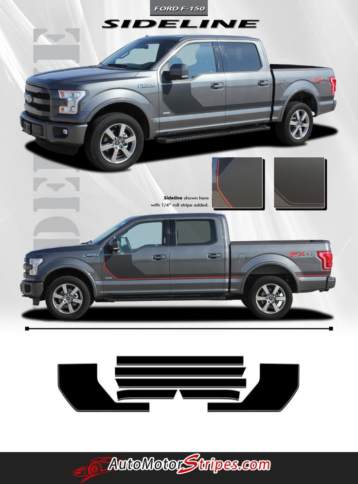 Best Ford F Vinyl Graphics Stripes Decals By - Truck bed decals customat superb graphics we specialize in custom decalsgraphics and