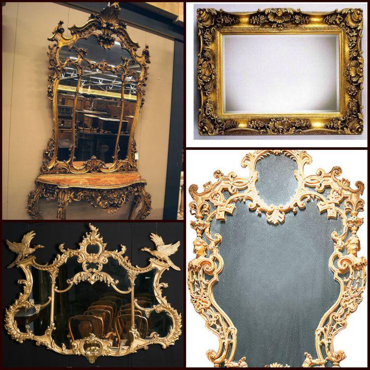 Чудесные антикварные зеркала.