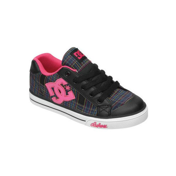 Girl's Chelsea TX Shoes DC Shoes ($30) ❤ liked on Polyvore featuring shoes