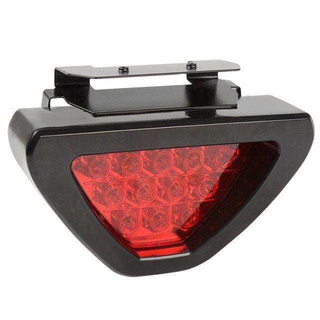 Triangle Car Tail Lights Brake Light Fog Lamp Universal Red Led Flash Bulbs Truck Auto Warning Light Car Styling Review Fog Lamps Car Lights Tail Light