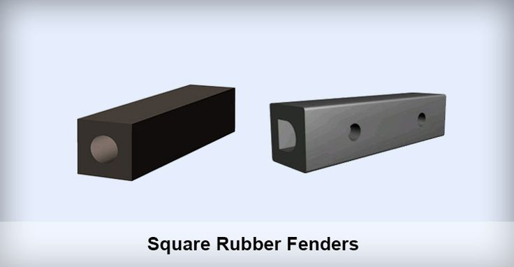 Square Rubber Fenders Application of Square Rubber Fenders Square rubber fender is mounted to docks or ships to counteract the collision force between dock and ship generated during mooring and berthing, thus preventing ships and docks from being damaged.