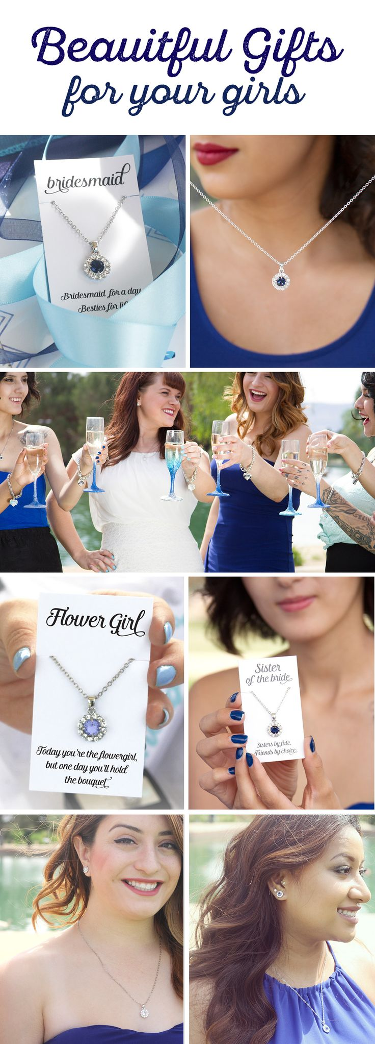 Its never easy to find the right gifts for your girls #inspiredsilver has made it a bit simpler. Use our color swatches to pick your wedding color and we will show you hundreds of choices.