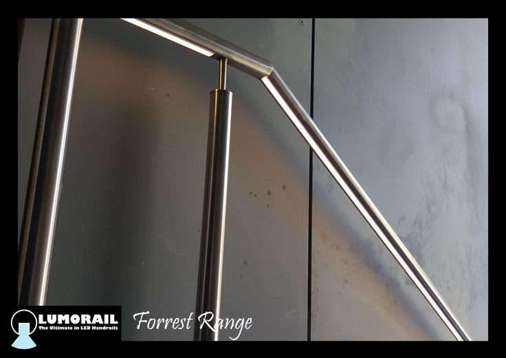 The stunning Forrest Range LED Illuminated handrail, the perfect outdoor safety feature for these units in Toorak. Featuring our patented hollow bracket adapter system. See www.lumorail.com.au for more info.