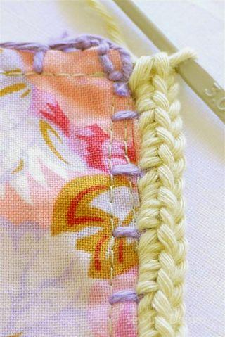 Sewing Daisies: Kaffe Fusion Blanket