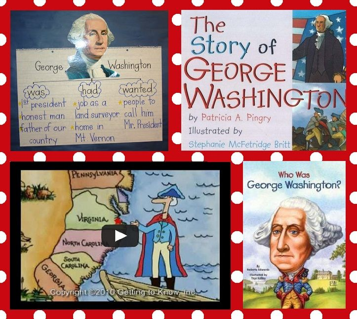 George Washington President's Day Kindergarten Lesson Plan