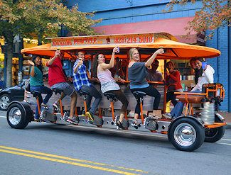 Asheville pubcycle looks like a lot of fun north for Wheel city motors asheville nc